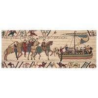 Bayeux - William Sails for England Tapestry