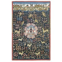 Thousand Emblazoned Flowers Tapestry