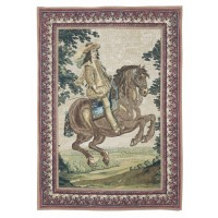 Mounted Cavalier Tapestry