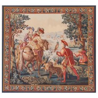 The Falconers Handwoven Tapestry