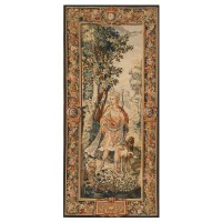 Renaissance Lady Handwoven Tapestry
