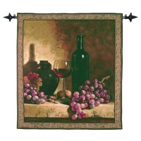 Vintage Banquet Woven Art Tapestry